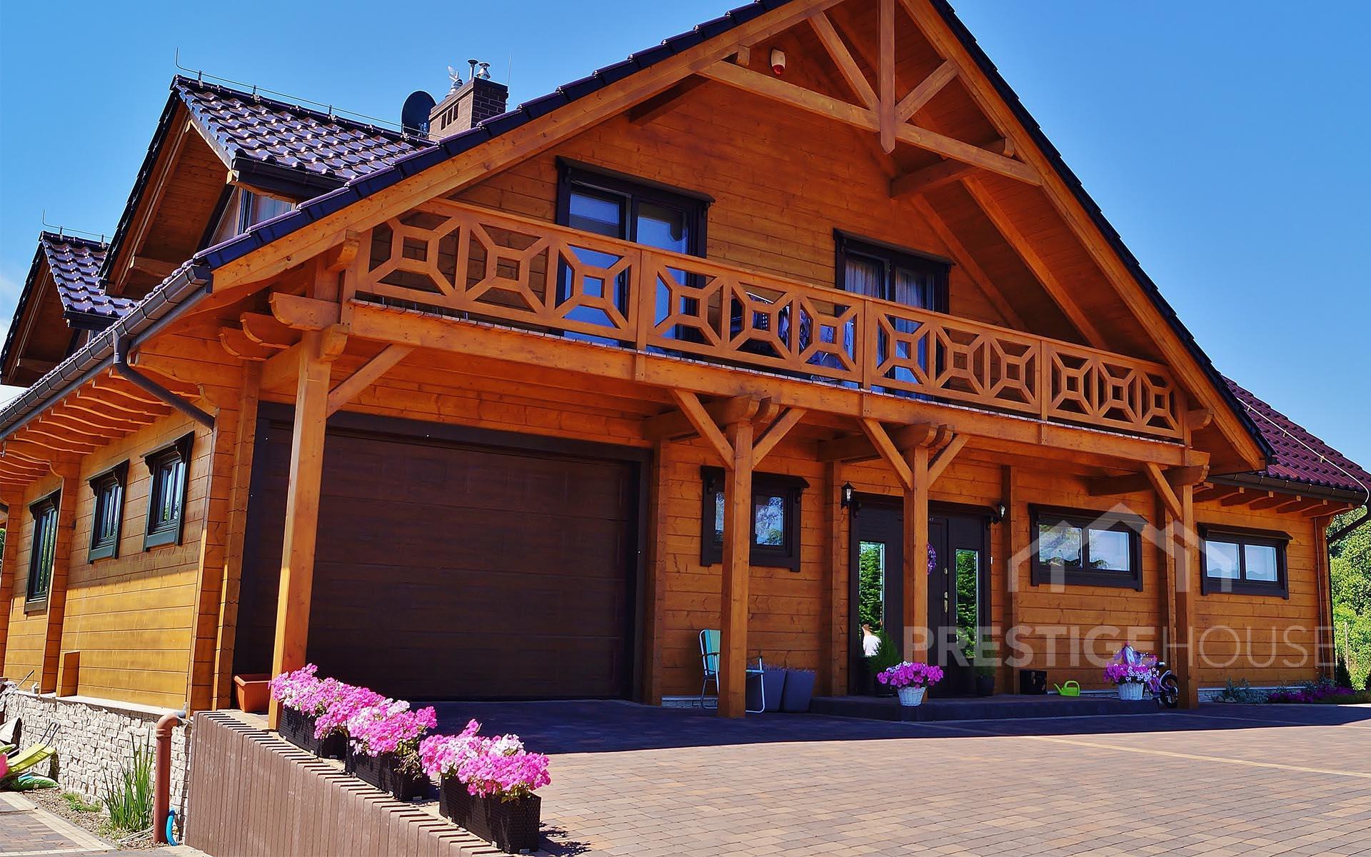 Nowoczesne domy z drewna - Producent Prestige House