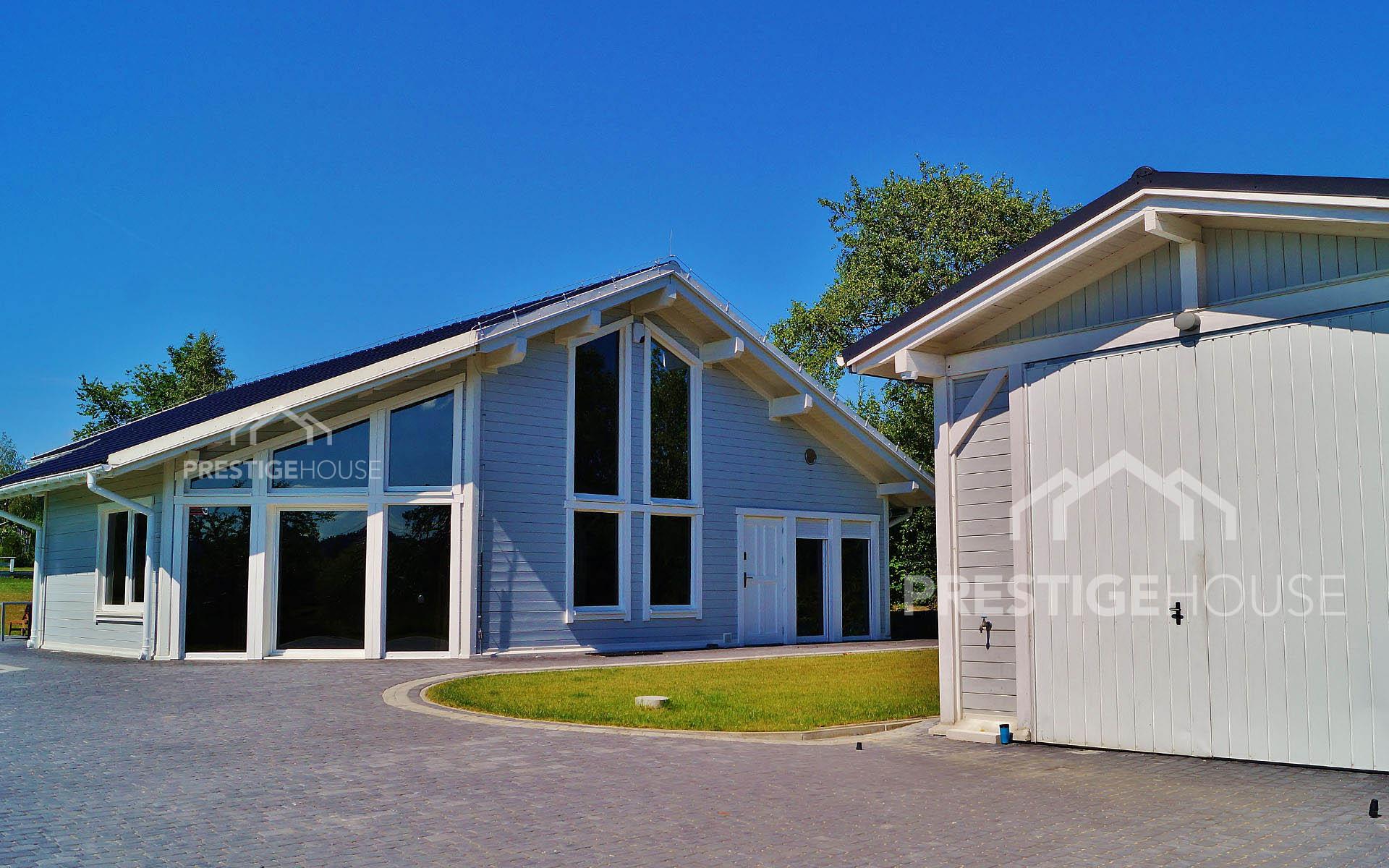 Prestige House Nowoczesne domy z drewna - producent