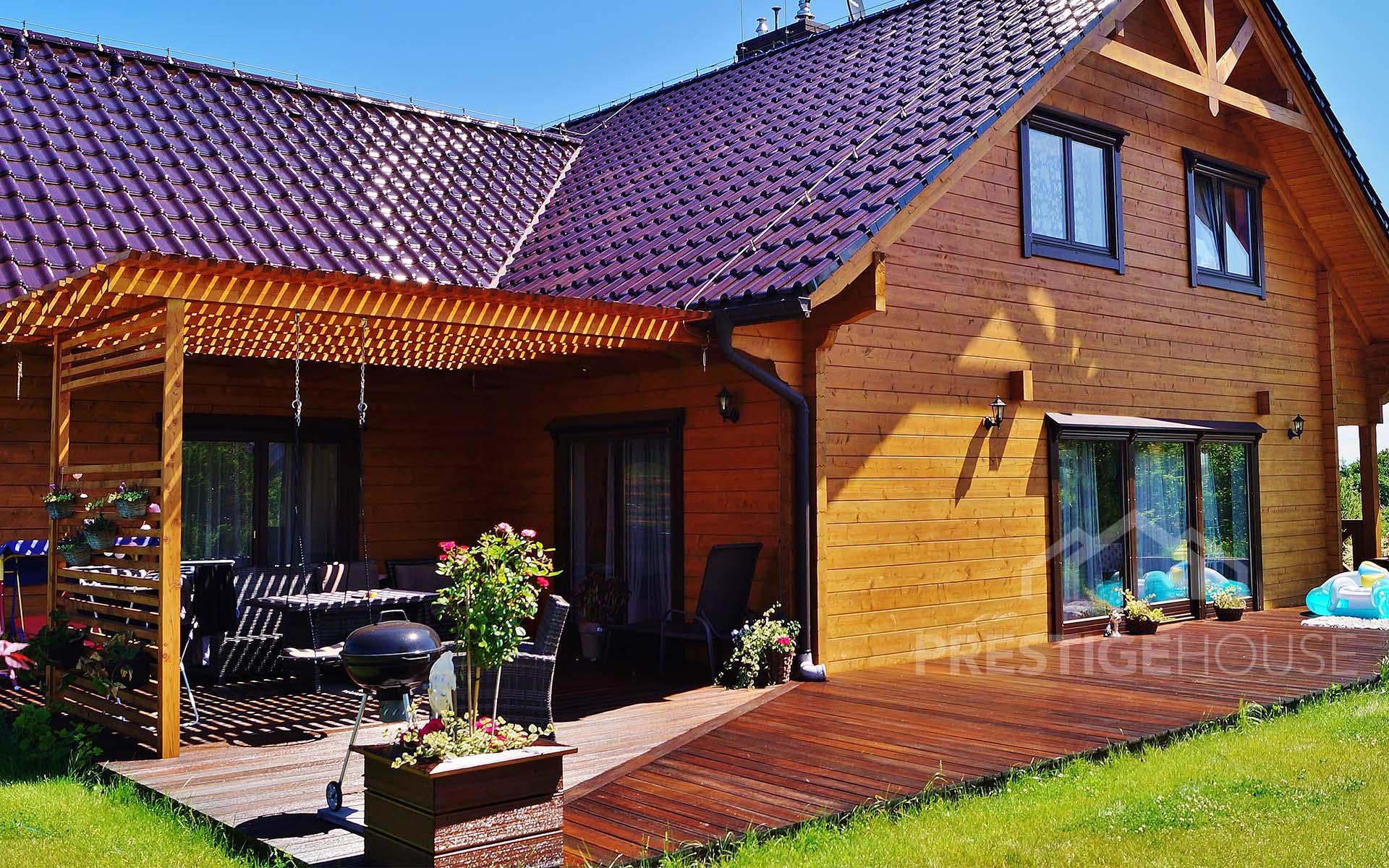 Producent domów z drewna, drewnianych