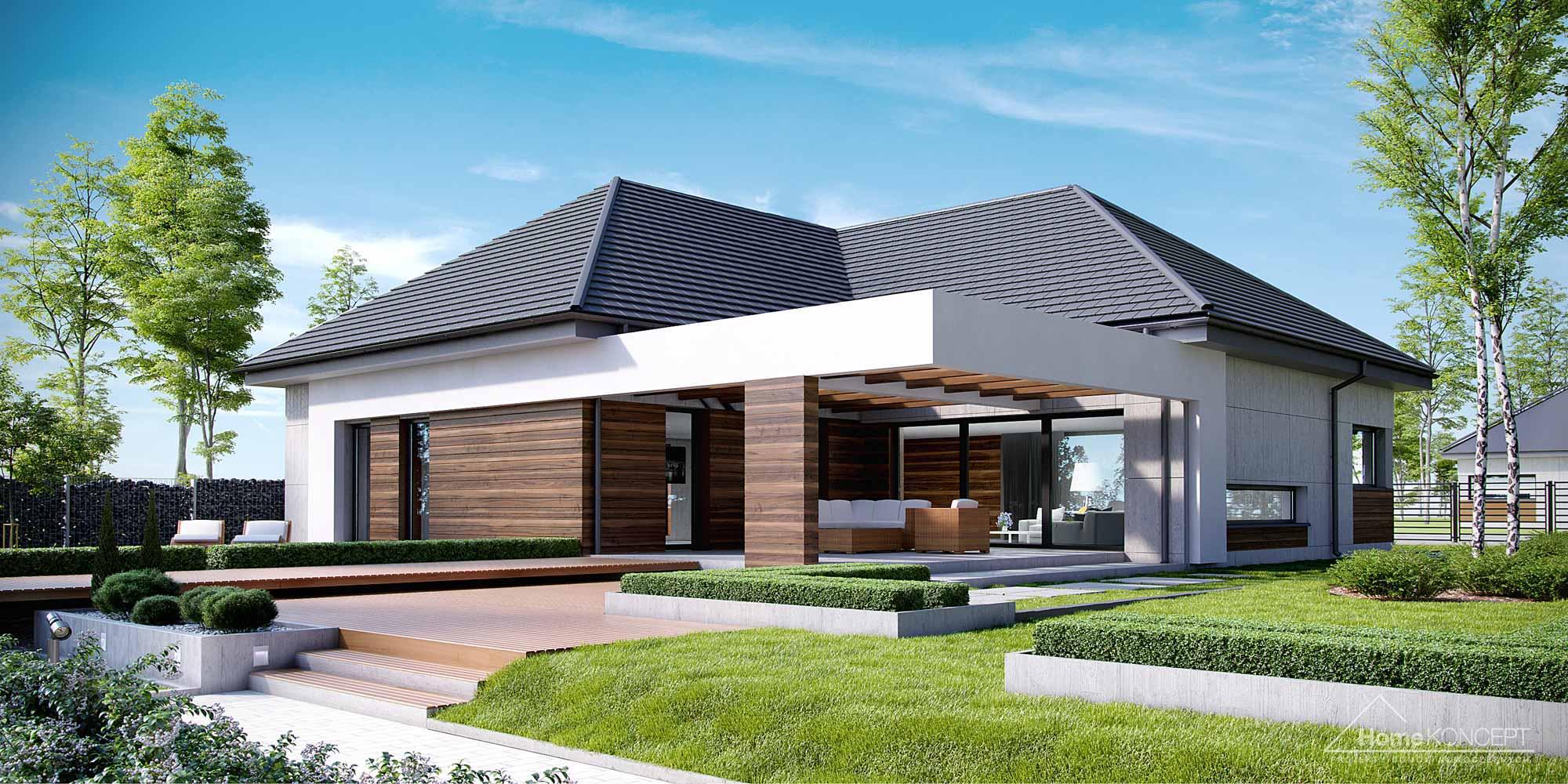 Projekt domu HomeKONCEPT 26