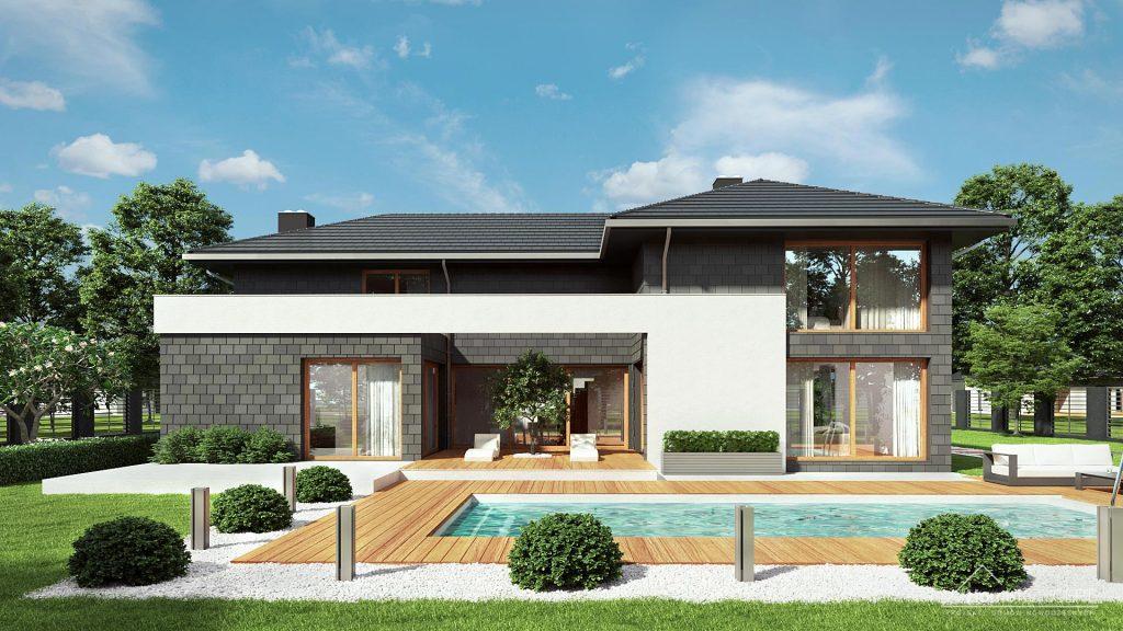 Dom z basenem - HomeKONCEPT 40