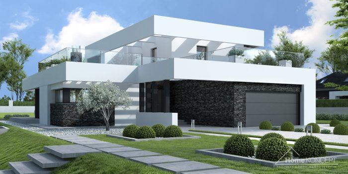Projekt domu nowoczesnego HomeKONCEPT 41