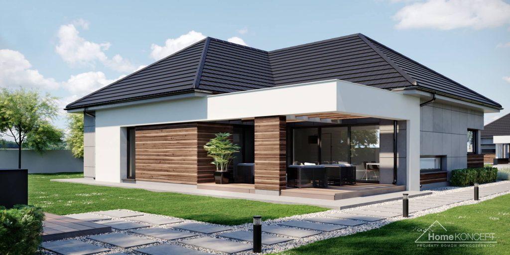 Dom jednorodzinny - HomeKONCEPT 43