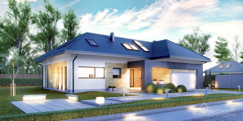 Projekt domu HomeKoncept 14