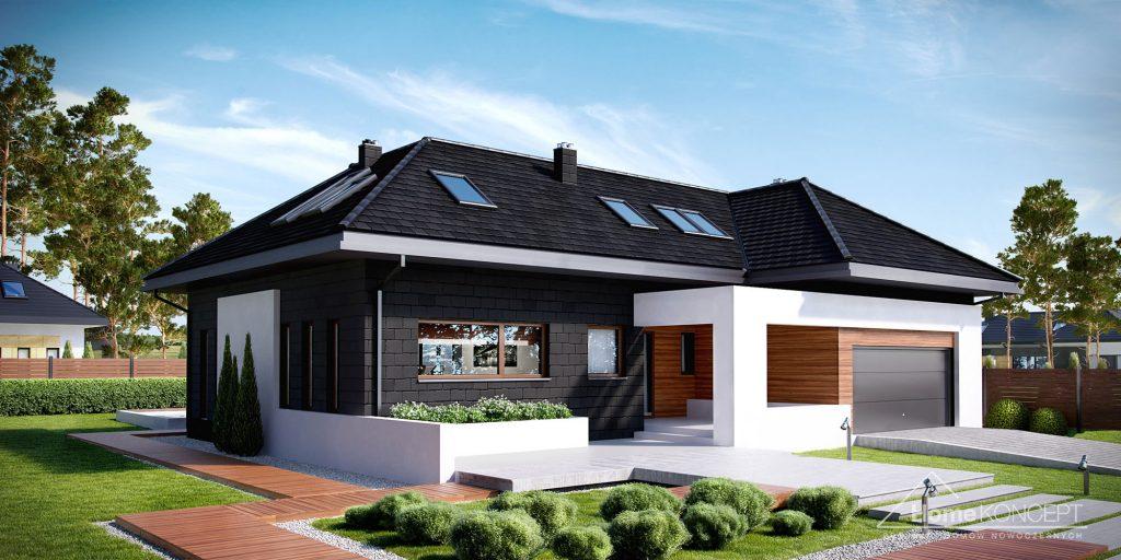 Projekty domów energooszczędnych - HomeKoncept 13