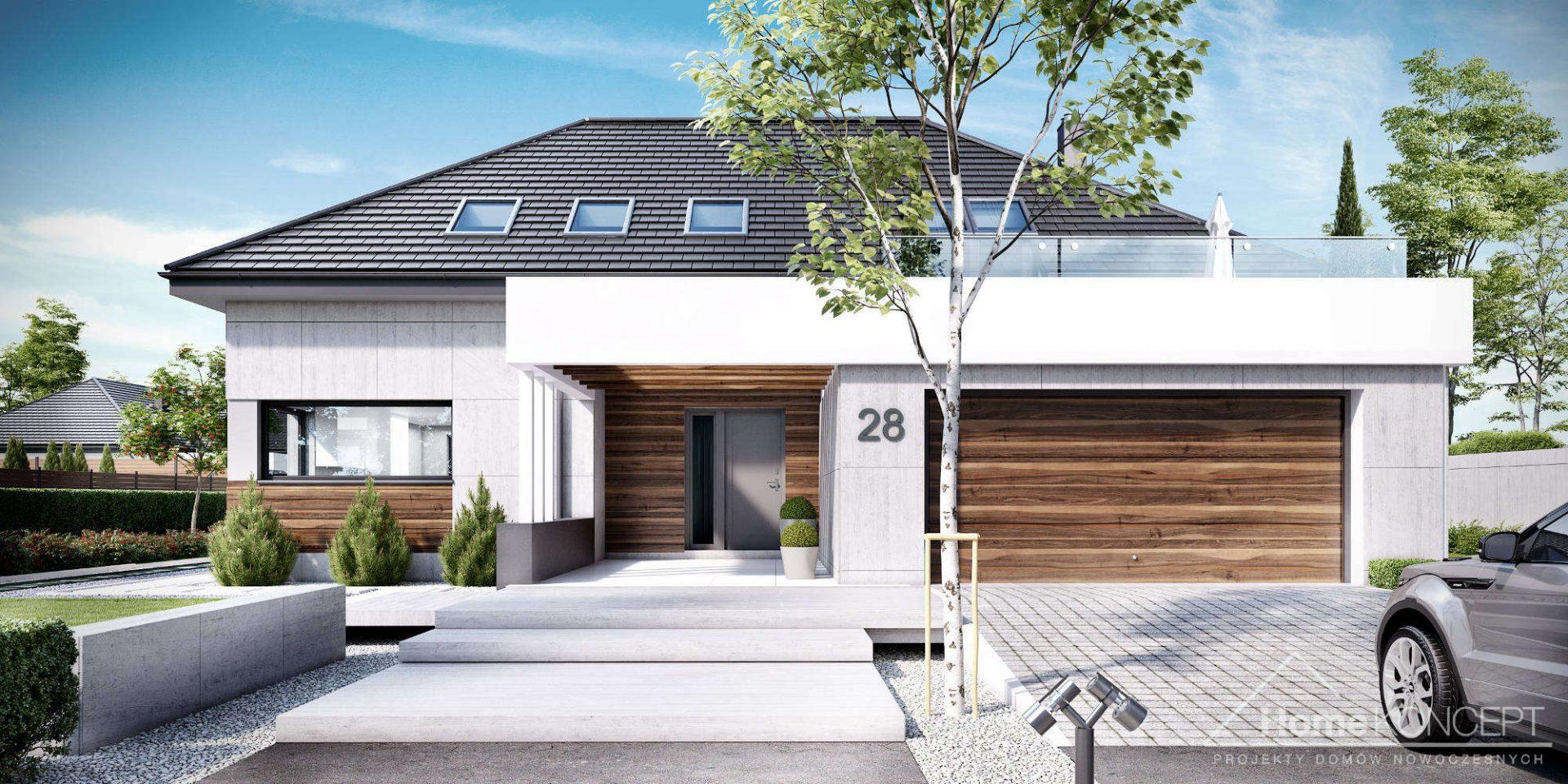 Projekt Domu HomeKoncept 28