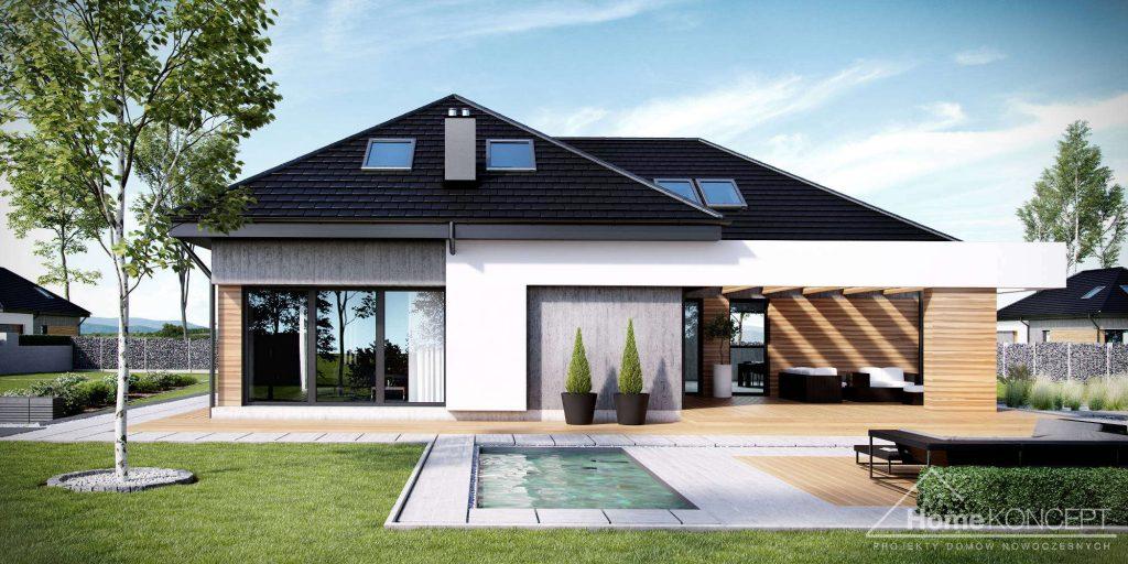 Projekt domu z poddaszem użytkowym - HomeKoncept 29