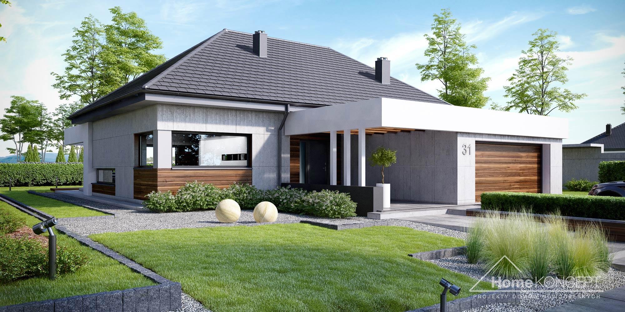 Projekt domu HomeKoncept 31