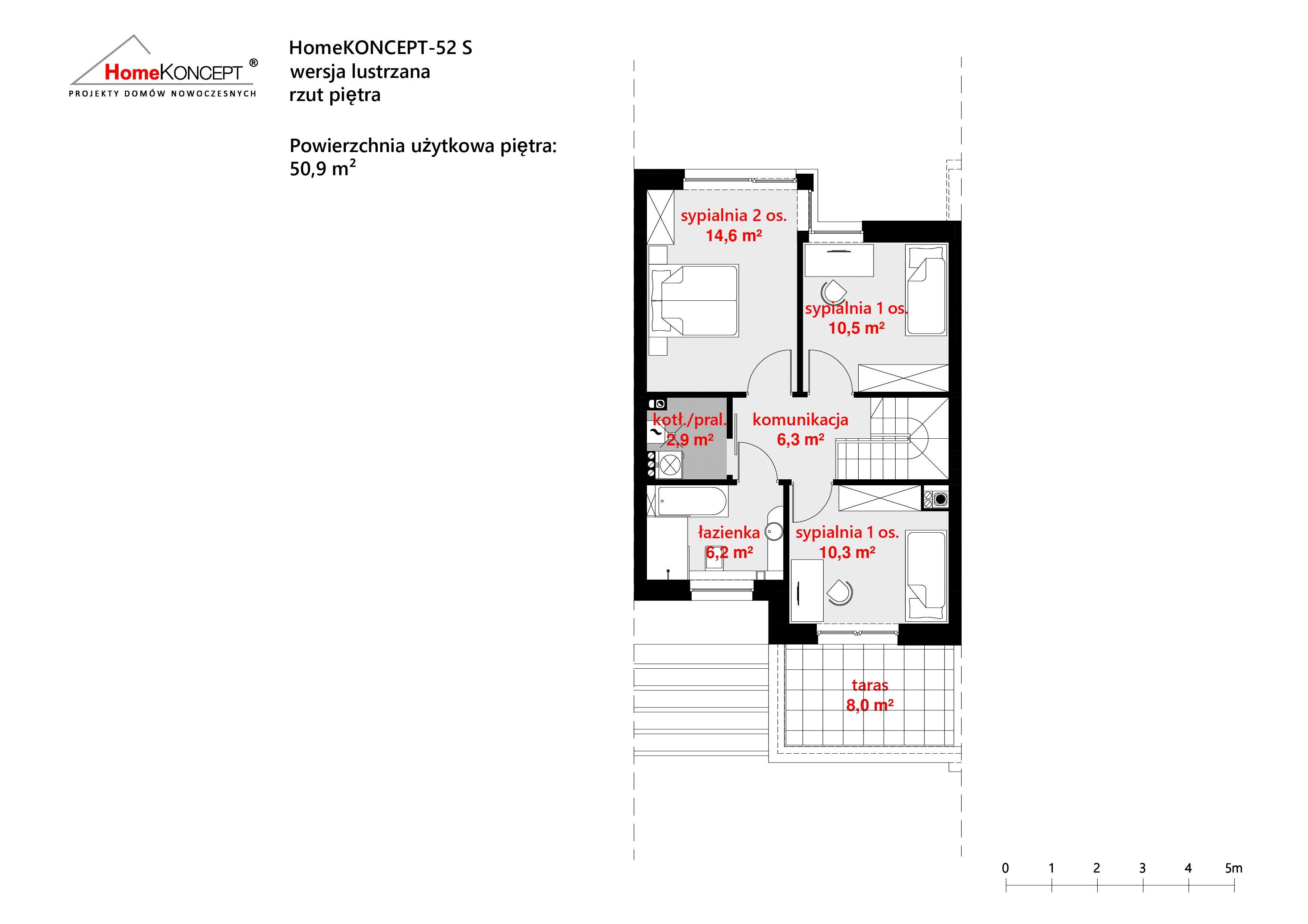 HomeKONCEPT 52 S L piętra