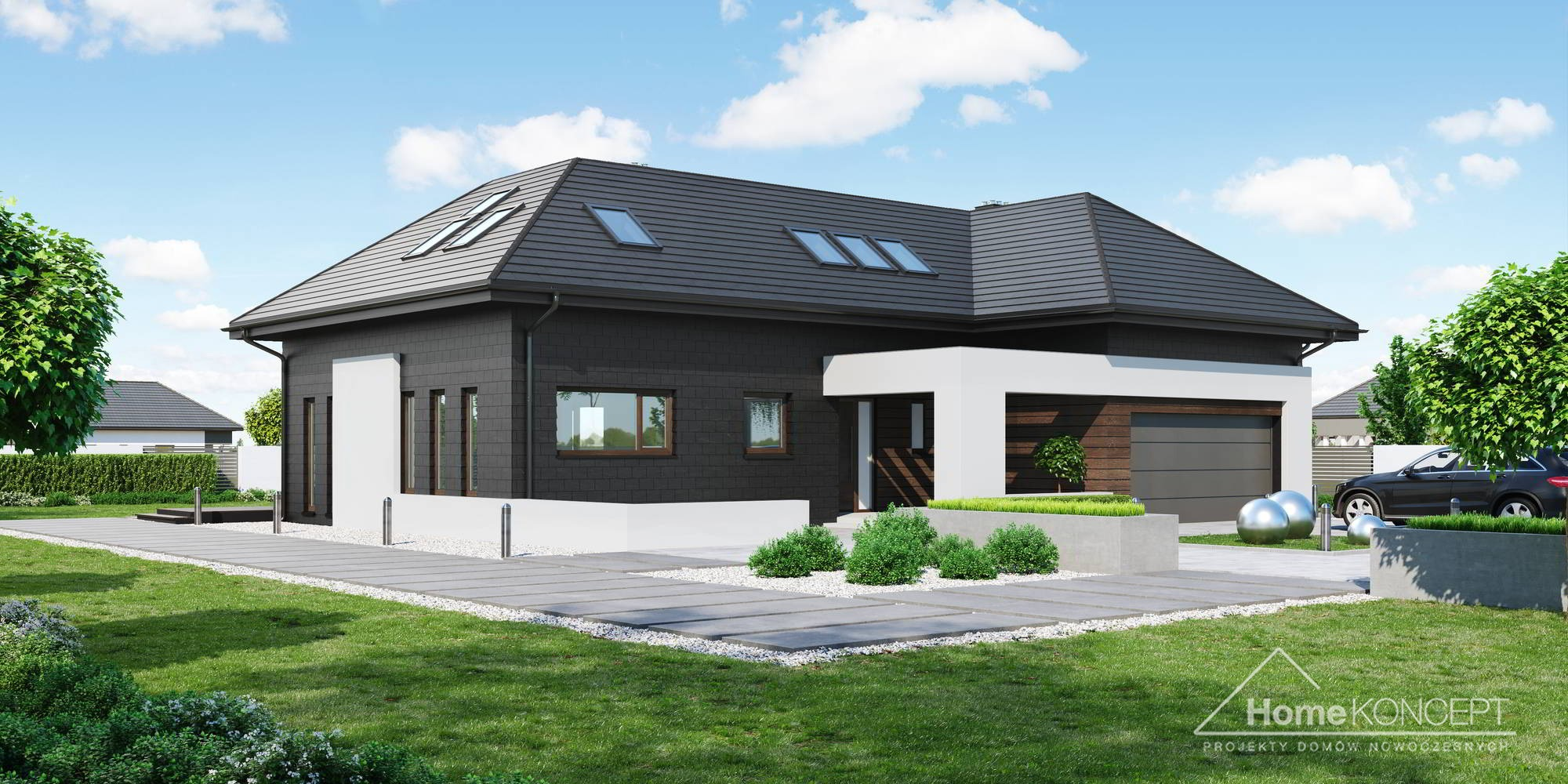 Projekt Domu Homekoncept 53 Prestige House