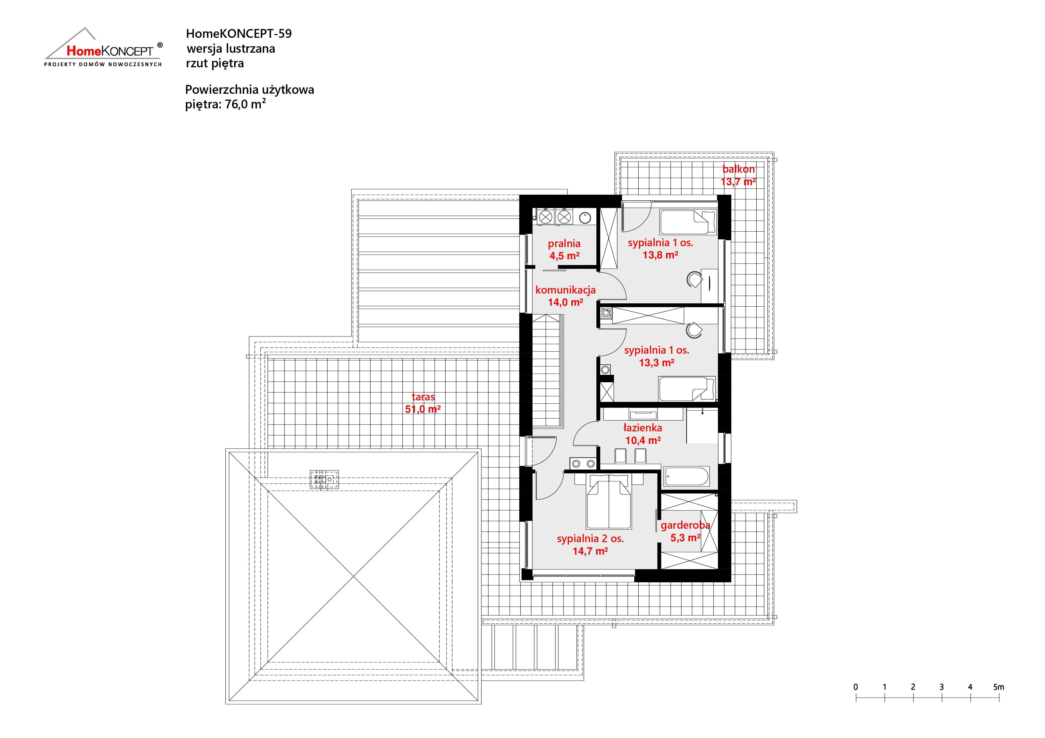 HomeKONCEPT 59 L piętro