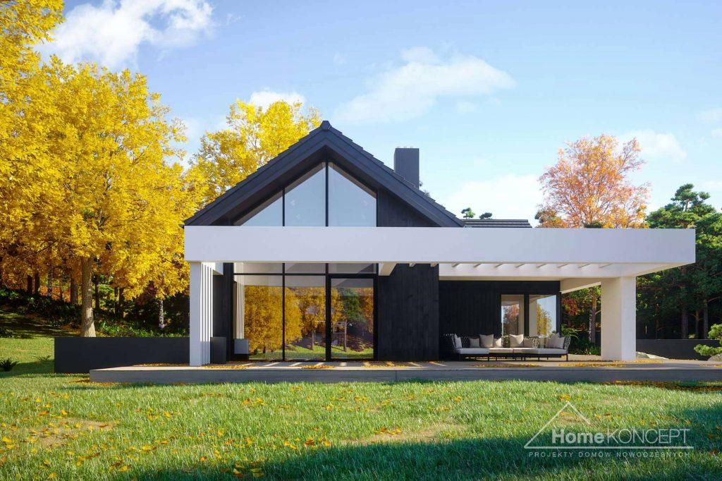 Dom stodoła projekt - HomeKONCEPT 67