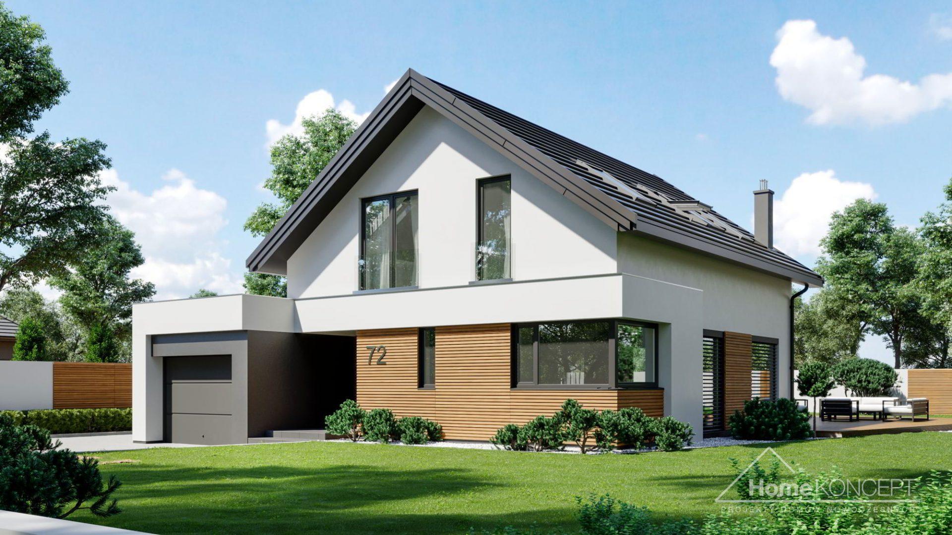 HomeKONCEPT 72 projekt domu parterowego