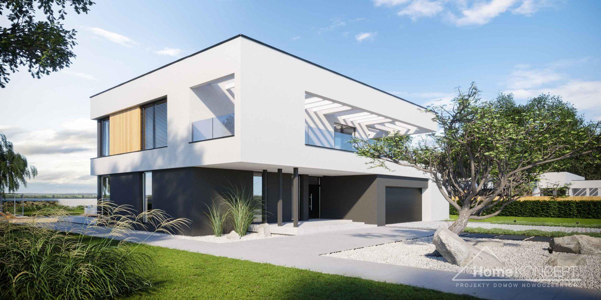Projekt domu HomeKONCEPT 74