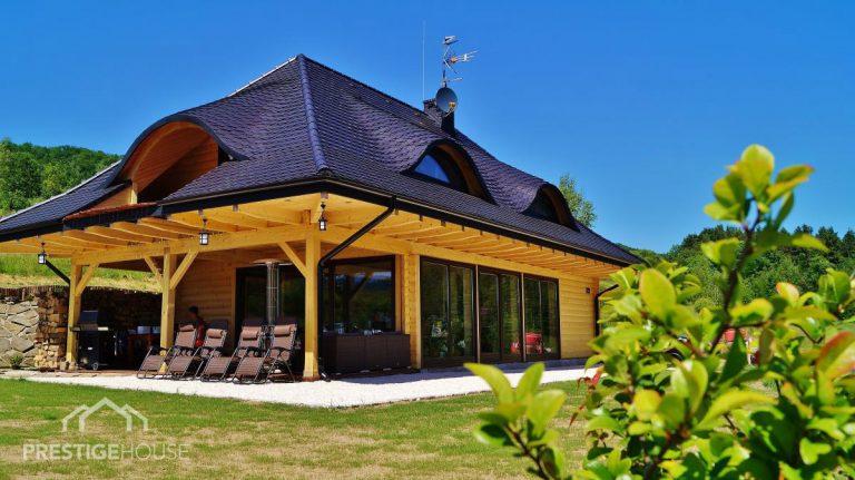 luksusowe domy z drewna