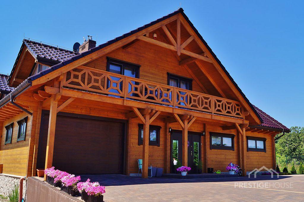 nowoczesnwe domy drewniane